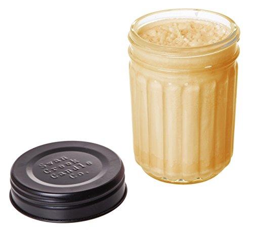 Swan Creek 12oz Homespun Jar Roasted Espresso 100% American Soybean Wax Candle