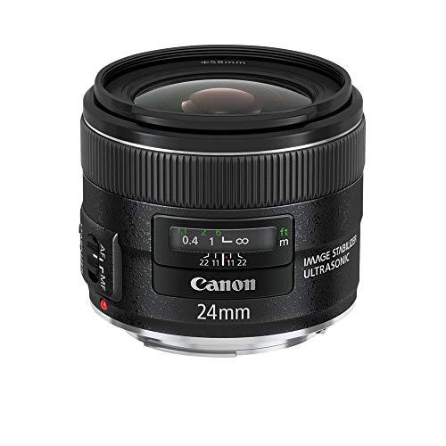 Canon Obiettivo Grandangolare EF 24 mm f 2.8 IS USM, Nero