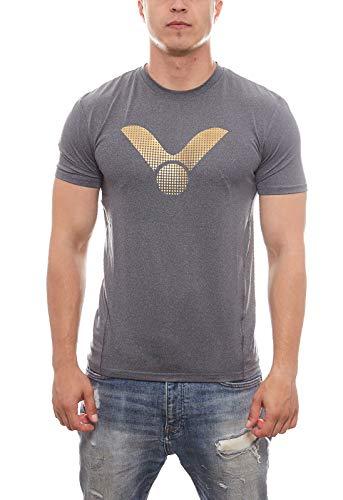 VICTOR T-Shirt grau 6518 - S
