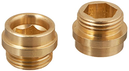 Danco 30006E Faucet Bibb Seat, For Use With Central and Rheum Faucets, NO 7, 1/2-24 Threaded, Brass, Plated