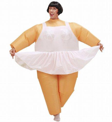 Widmann - Aufblasbares Kostüm Ballerina