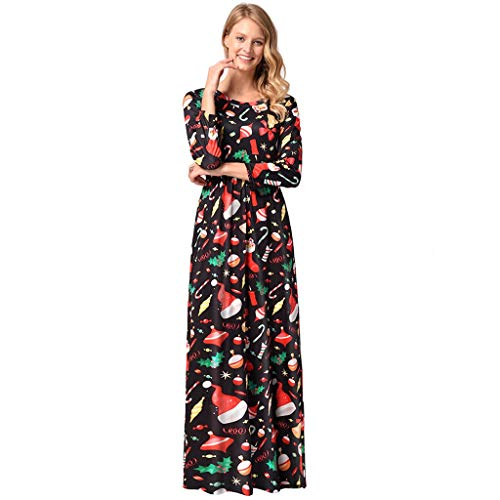 Maxi Dresses for Womens, FORUU Summer Short Sleeve Floral Printed Long Sundress Blue Ladies Striped Cami U Neck Sexy Wedding 2020 Newest Arrival Under 5 Surprise Best Gift for Girlfriend Lover Wife