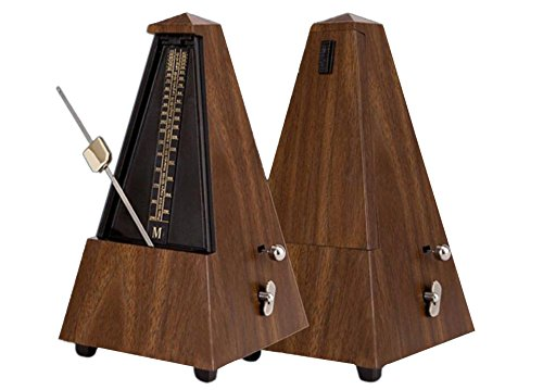 FRIEND Mechanical Metronome Audible Click & Bell Ring Pyramid Style for Guitar/Bass/Piano/Violin