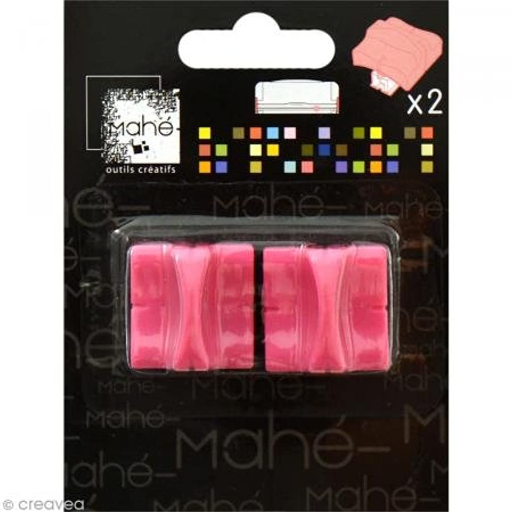 Toga OU18 Set of 2 Replacement Blades for Plastic Trimmer Pink 8 x 10.5 x 2.5 cm