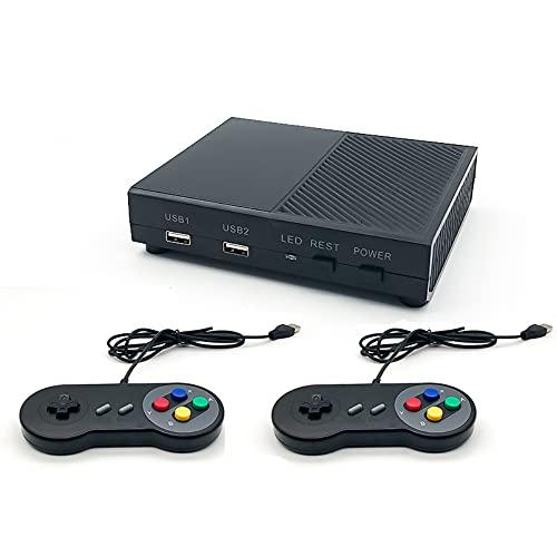 FanLa Consola de Juegos HD Retro clásica, Controlador de Salida con Cable Compatible con HDMI, Sistema de Entretenimiento de Videojuegos Plug and Play de 8 bits Juegos 821 Integrados