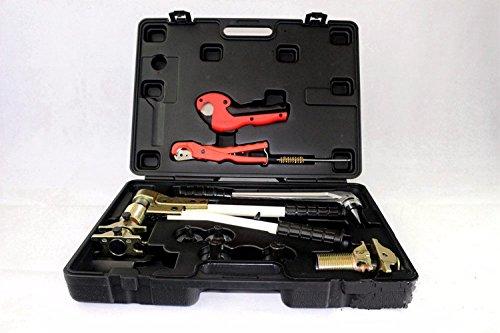 Mabelstar Pex 1632 Schiebehülsen-Werkzeugset mit Presszange, 16-32 mm, wird verwendet für Rehau-Systeme,  beliebtes Rehau-Sanitär-Werkzeugset
