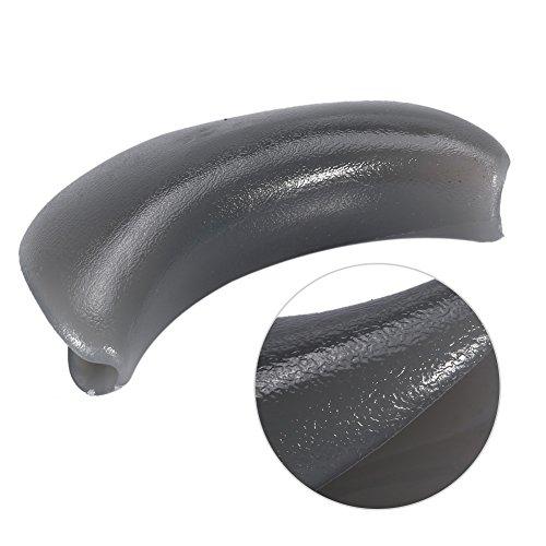 Nackenschutz für Rückwärtswaschbecken, Professional Weiches Silikon/PU Gel Beckenkissen Nackenkissen für Friseursalon Waschbecken (Stil 1 - Silikon)