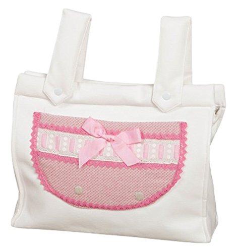 Babyline Caricias - Bolso panera para silla de paseo, color rosa