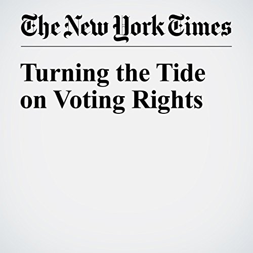 Turning the Tide on Voting Rights audiobook cover art