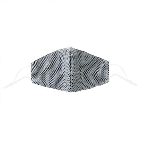 LBA Adulto Desechables de Filtro de 3 Capas con Pendientes Elásticos, Dibujos Animados patrón