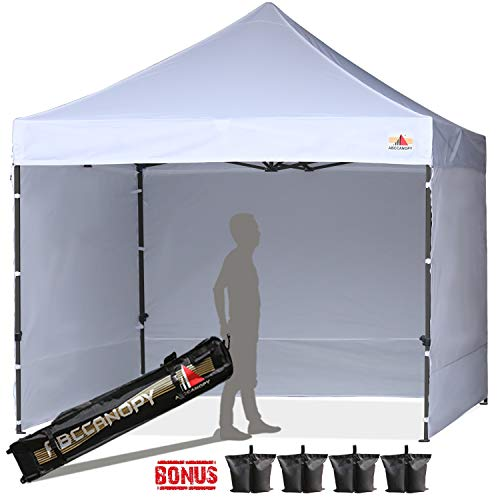 ABCCANOPY Canopy Tent Pop Up Canopy Tent Commercial Instant Shade Tent with Upgrade Roller Bag