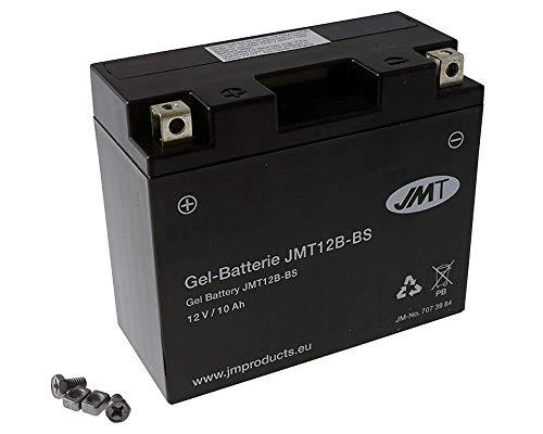 Batterie JMT Gel YT12B-BS 12 Volt - Yamaha XVS 650 H Drag Star 4VR Bj. 1997-2000 [ inkl.7.50 EUR Batteriepfand ]