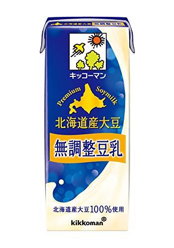 北海道産大豆 無調整豆乳 200ml×36本 紙パック