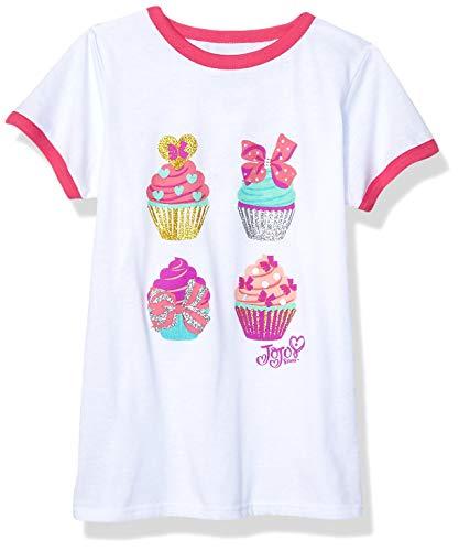 Pink Kids Ringer T-Shirt - 7