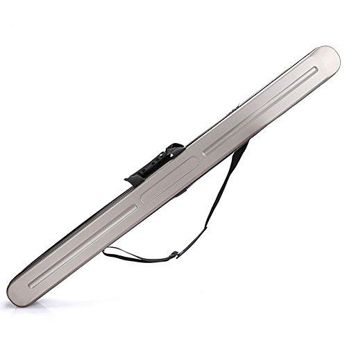 Aofit ハードロッドケース釣り竿収納ケースロッドポケット釣りロッド記憶容量ロッド固定防水耐久衝撃抵抗棒保護ケース釣りバッグホルダ125センチメートルブラウンスタンド 125 * 6 ブラウン
