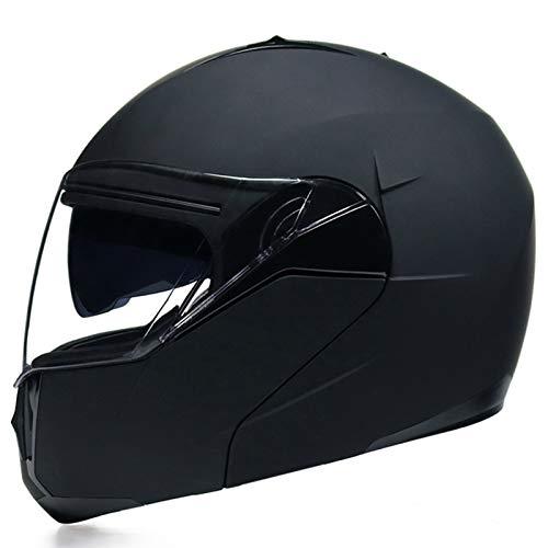 MOMOJA Casco De Motocicleta Abatible con Doble Visera Cascos Aprobados por ECE Casco De Protección Integral para Motocicleta E,S