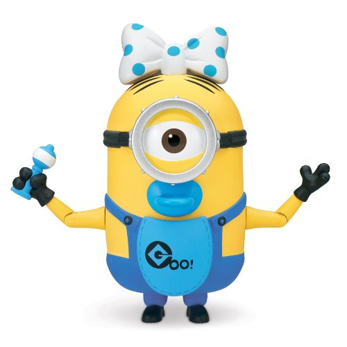 Despicable Me 2 Deluxe Action Figure - 10cm Build-A-Minion - Baby Carl