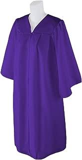 graduation gown purple