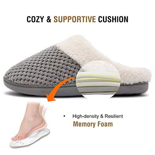 ULTRAIDEAS Women's Slip-on Memory Foam Indoor Slippers