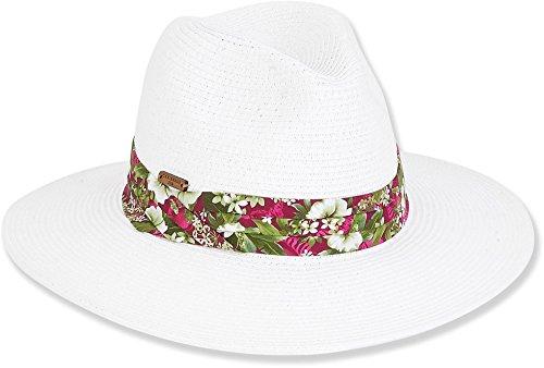 Caribbean Joe Accessories Figi Breeze Hat (One Size - White)