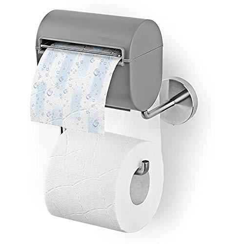 CYGGA Toilettenpapierhalterung inkl. Befeuchter, Ohne Farb, Duft und Konservierungsstoffe, Papierspender Klopapierhalterung, toilettenpapier aufbewahrung feuchtes toilettenpapier Box (A)