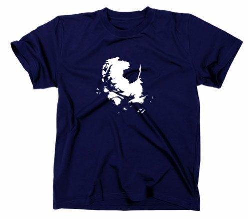 #2 Star Wars Yoda T-Shirt Jedi Ritter Navy, S
