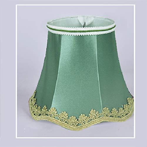 Wave-Bottom Zubehör Stoff-Lampenschirm – Kerze, Kronleuchter, Hängelampe, Tisch-Lampenschirm, moderner europäischer Stil, 20#, 8*13*12 cm