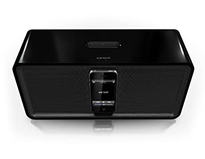 Sonoro cuboDock Bluetooth Docking Station for iPod/iPhone - Black from Sonoro
