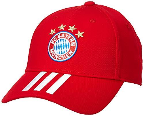 adidas FC Bayern Baseball Cap Baseballkappe, Fcbtru/White, OSFY