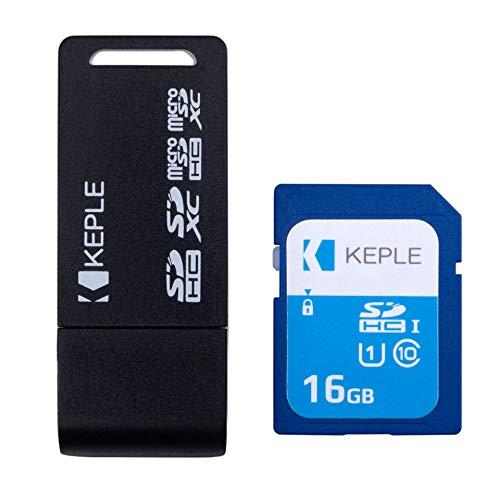 16GB Tarjeta de Memoria SD con Lector USB Adaptador Compatible con Canon Powershot SX260 HS SX240 HS SX500 IS SX160 IS SX50 HS SX270 HS SX280 HS SX430 SX60 SX610 HS SX710 HS SX530 HS Camara Digital