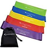 Exercise Bands for Working Out Arms, Legs and Butt – Non-Latex Resistance...