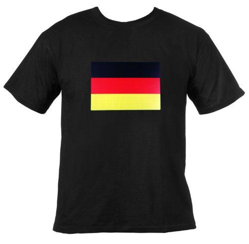 Ultrasport T-shirt lumineux à LED Noir Allemagne xl