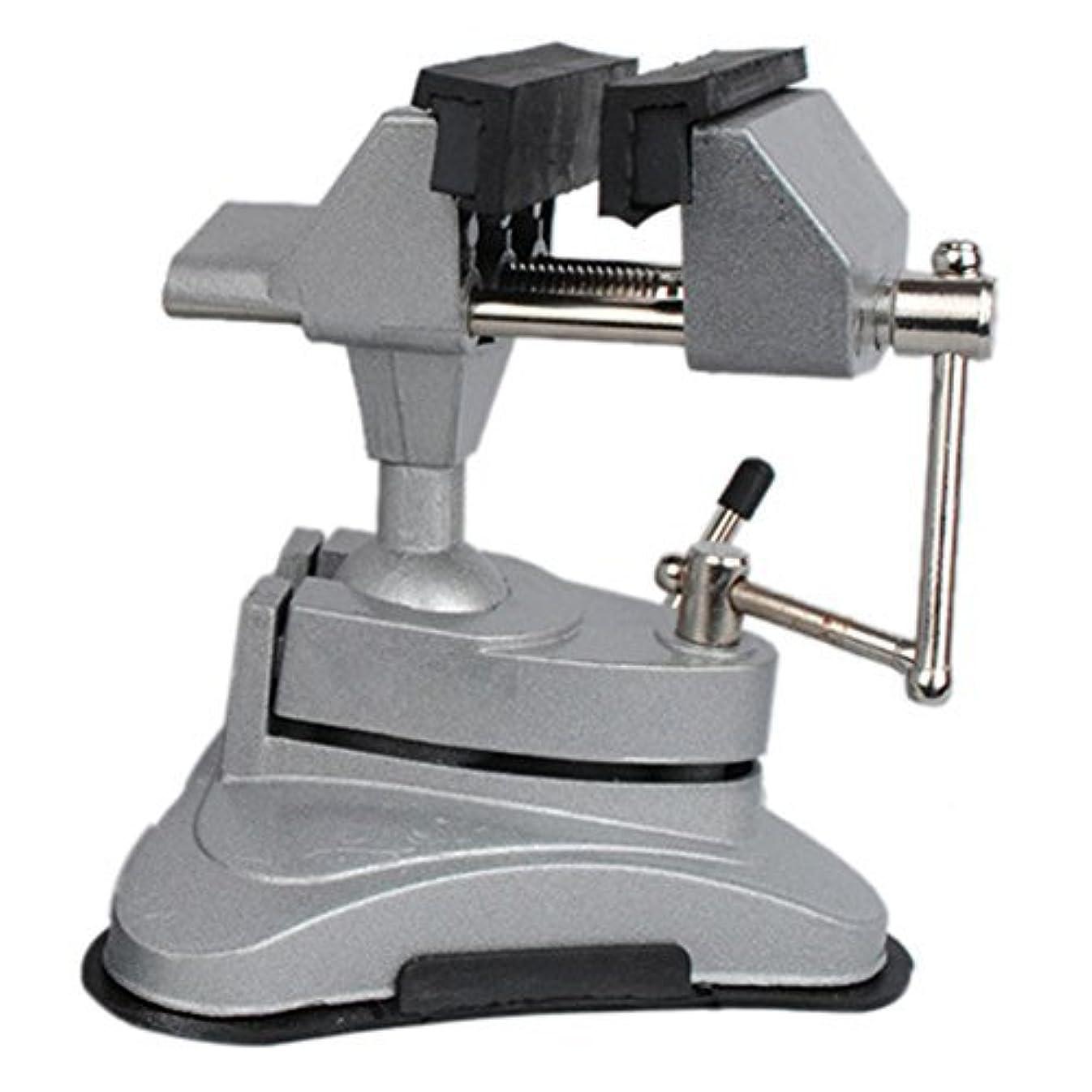 寄付する怠なこれらNUZAMAS Multi Angle Swivel Head Table Top Vice Clamp With Suction Base [並行輸入品]