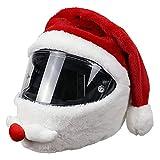 DRXX Cascos de Motocicleta mullidos Que Cubren Accesorios para Fotos Familiares, Cascos completos para Motocicletas, Paseos Divertidos y Regalos para Amantes de la Motocicleta