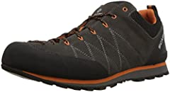 Suede upper for long lasting durability Vibram Vertical Approach outsole with Megagrip rubber for outstanding traction lace-to-toe design for performance fit Rubber toe rand for superior abrasion resistance