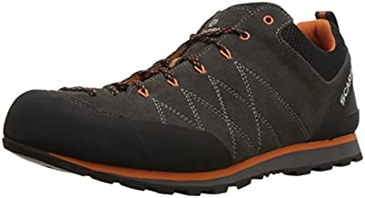 SCARPA Men's Crux Hiking and Approach Shoes - Shark/Tonic - 9.5-10