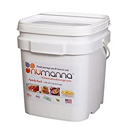 NuManna INT-NMFP 144 Meals, Emergency Survival Food Storage Kit, Separate...