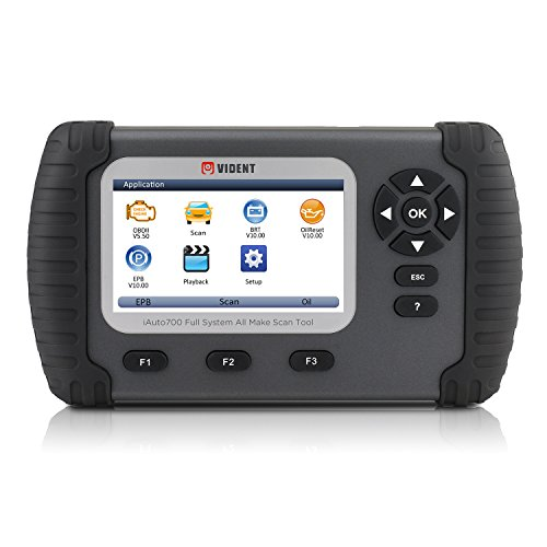 Volles Systemdiagnosewerkzeug VIDENT ILink700 4.3 LCD Berufscodeleser für Öl Rückstellung EPB ABS SAS Airbag Rückstellungs Regeneration Batterie Konfiguration OBDII 12V Autos