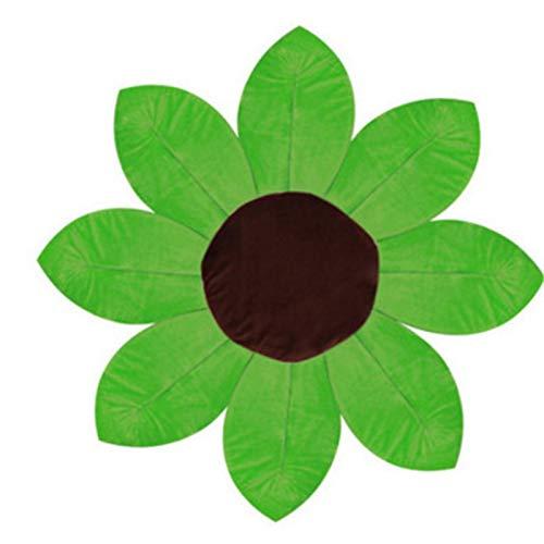 Badbloem voor baby's   pasgeboren baby's   gewatteerde badmat   in verschillende kleuren   groen