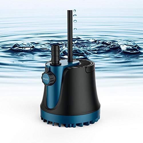 Bomba de agua sumergible, 220v 25w / 35w / 60w Bomba de agua 1800L / H / 2500L / H / 3000L / H Bomba sumergible silenciosa Fuente de agua con 2 salidas para acuario Pecera de estanque Estanque