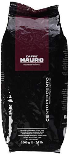Mauro Espresso Centopercento Bohnen, 1er Pack (1 x 1 kg)