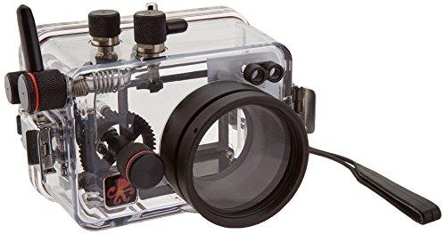 Ikelite 6170.50 Carcasa submarina para cámara - Carcasa acuática para cámaras (60 m, Policarbonato, Transparente, Resistente al Agua, Panasonic Lumix ZS50, TZ70, 173 mm)
