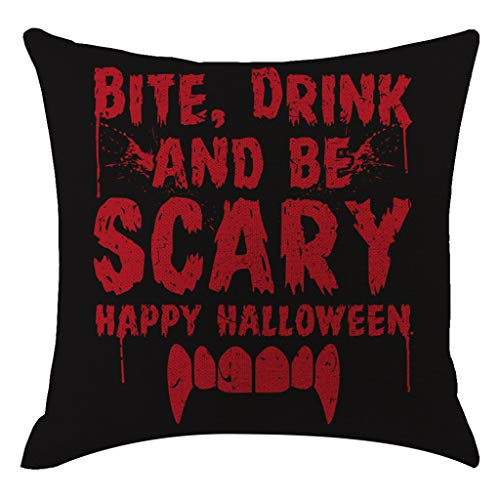 Malleable Halloween Pumpkin Pillow Cover Pillowcases Decorative Sofa Cushion Cover