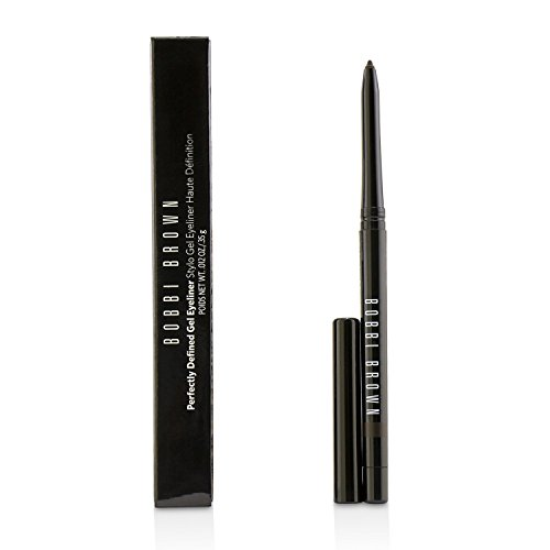 Bobbi Brown Perfectly Defined Gel Eyeliner 02 Chocolate Truffle for Women, 0.012 Ounce