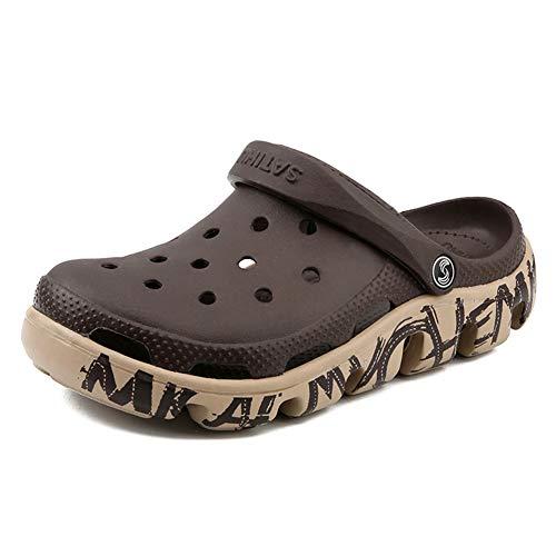 Moda Unisex Jardín Zuecos Hombres/Mujeres Mulas ultraligeras Sandalias Zapatos de Playa Zapatillas Informales Disponibles en
