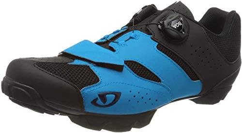 Giro Giro Herren Cylinder MTB Radsportschuhe - Mountainbike, Mehrfarbig (Blue Jewel/Black 000), 41 EU