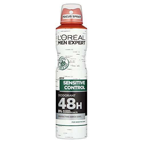 L 'Oréal Men Sensitive Control deodorant Deodorant 250 ml 250 Milliliters