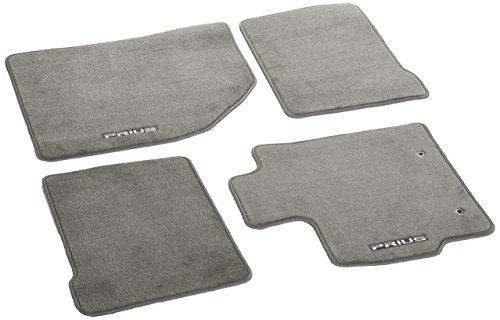 Genuine Toyota Accessories PT926-47101-11 Dark Gray Carpet Floor Mat for 2010-2011 Regular Prius Models Only