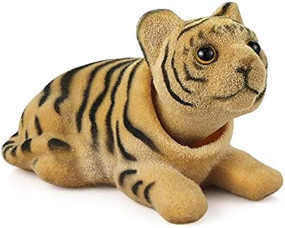 KGASYUI Car Dashboard Ornament At the price of surprise Tiger A Doll Popular product Nodding