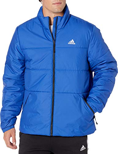 Great Features Of adidas Outdoor mens Basic 3-Stripes Insulated Jacket Team Royal Blue XX-Large